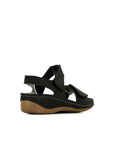 Hammer Jack Kadın Terlik / Sandalet 420 S302.056-Z Siyah